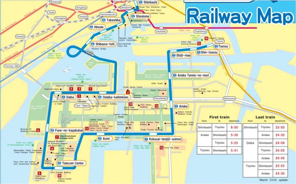 yurikamome map