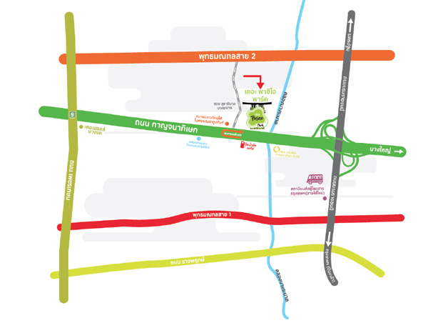 The Paseo Park กาญจนาภิเษก, เดอะ พาซิโอ พาร์ค กาญจนาภิเษก, คอมมูนิตี้มอลล์ใหม่ สไตส์ญี่ปุ่น, แผนที่, รีวิว, pantip, ห้างใหม่ กรุงเทพ, เอบีพี ทาร์ทีน, Au Bon Pain, โอ บอง แปง