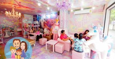 Unicorn Café, ยูนิคอร์น คาเฟ่, รีวิว, pantip, แผนที่, ราคา, ร้านขนมตัวการ์ตูน, ร้านขนมน่ารัก, wongnai