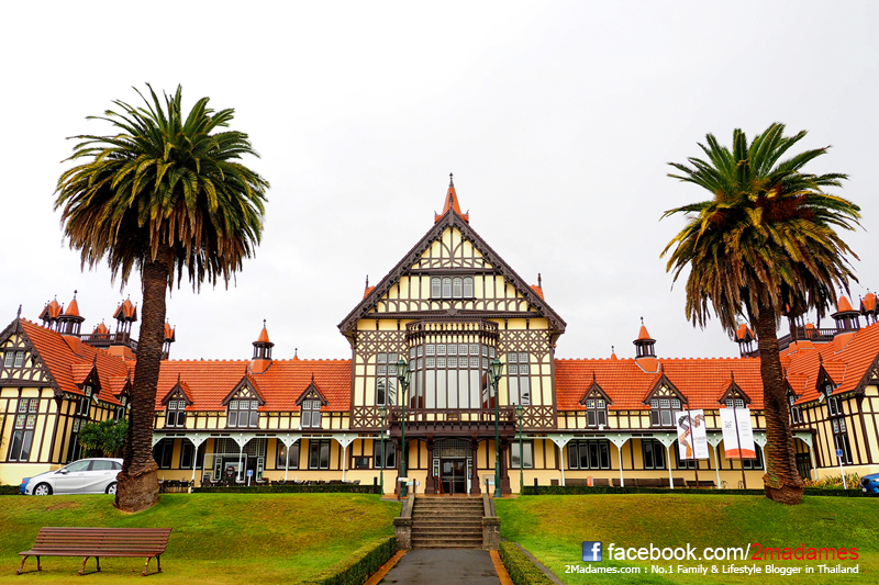 เที่ยวเกาะเหนือนิวซีแลนด์, Rotorua, Taupo, Wellington, รีวิว, pantip, Agrodome, Rainbow Springs Natural Park, Government Gardens, Huka Falls, Te Papa Tongarewa, Ferry  BlueBridge
