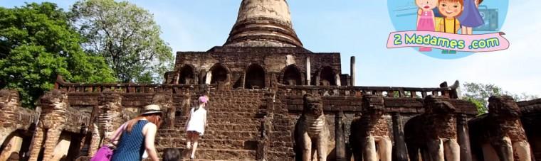 2MadamesTV, รักใคร ให้พาไปเที่ยว, เที่ยวสุโขทัย, อุทยานประวัติศาสตร์ศรีสัชนาลัย, สาทรพิพิธภัณฑ์ผ้าทองคำ, บินดี อยู่ดี, pantip