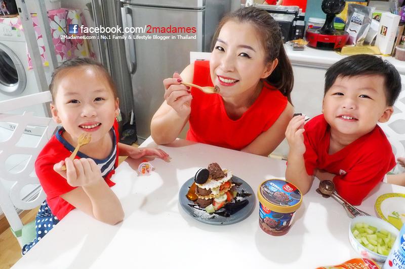 ไอศกรีม Wall's Oreo Cookie & Cream Chocolate,เมนูไอศกรีมกันทำง่ายๆ,Chocolate Lovers,รีวิว,pantip,หน้าร้อน กินอะไรดี