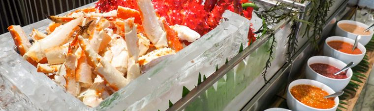 Seafood Sensation Buffet,ATELIER,Pullman Grande Sukhumvit,บุฟเฟ่ต์ปูยักษ์,บุฟเฟ่ต์อาหารทะเล,รีวิว,ห้องอาหารอเทลิเย่ โรงแรมพูลแมน กรุงเทพ แกรนด์ สุขุมวิท,pantip,wongnai,openrice,ราคา