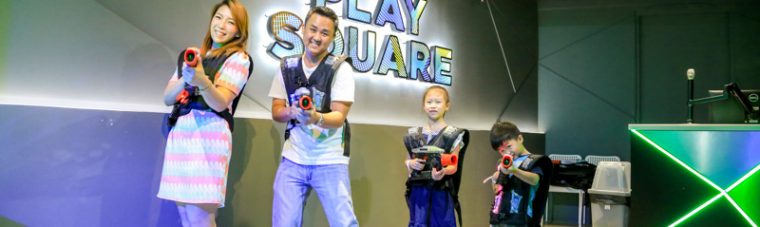 KIDS GENIUS,Fam Playland,Central Festival Eastville,Play Square,รีวิว,ค่าเข้า,ราคา,Clay Works,Chefu Town,i-genius,ยิงปืนเลเซอร์,pantip