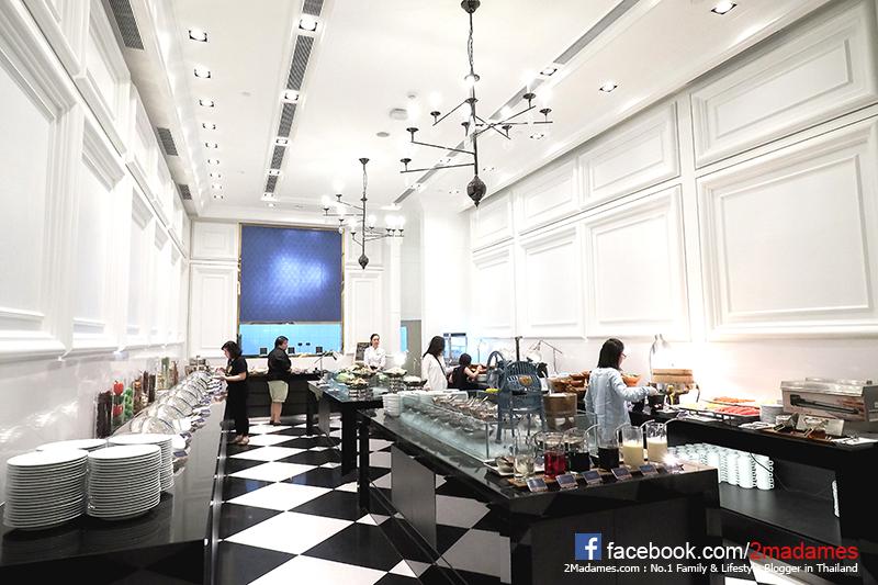 Let's Relax Spa Onsen,Grande Center Point Sukhumvit 55,โรงแรม แกรนด์ เซนเตอร์ พอยต์ สุขุมวิท 55,โรงแรม ทองหล่อ,รีวิว,ราคา,แผนที่,pantip,BLUE SPICE CAFÉ,บุฟเฟ่ต์ข้าวต้มกุ้ย