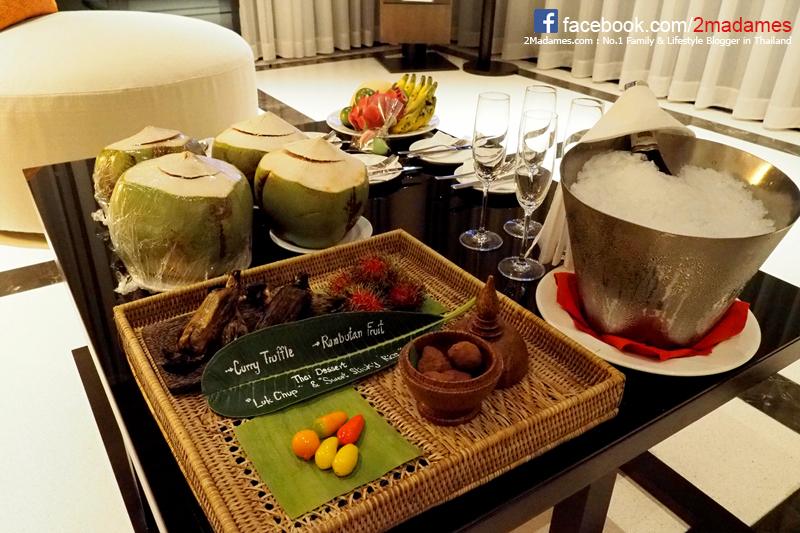 รีวิว,Conrad Koh Samui,โรงแรมคอนราด เกาะสมุย,พูลวิลล่าแบบสองห้องนอน,2 Bedroom Pool Villa,pantip,ห้องอาหารจันทร์,Jahn,เมนู,ราคา,Bangkok Airways,บางกอกแอร์เวย์ส